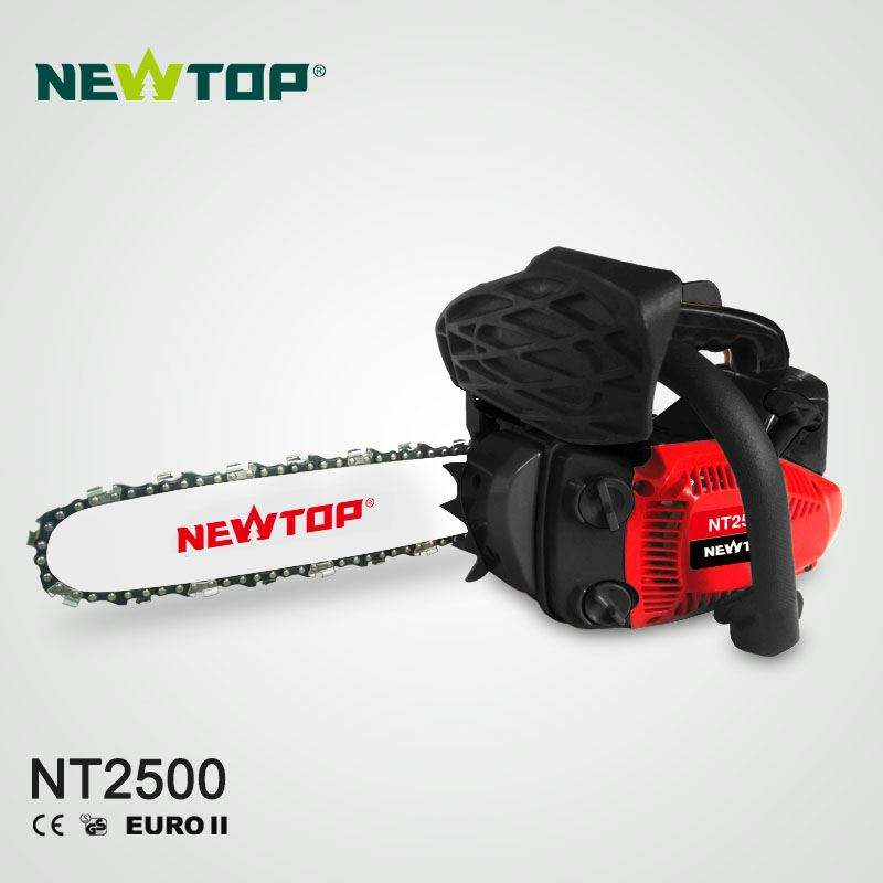 new style portable pocket 25cc gasoline chainsaw for homeowner use