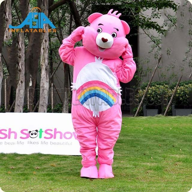 Walking cartoon mascot costume for promotion/advertising