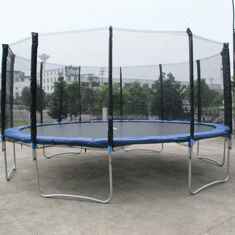 16FT round trampoline with safety net