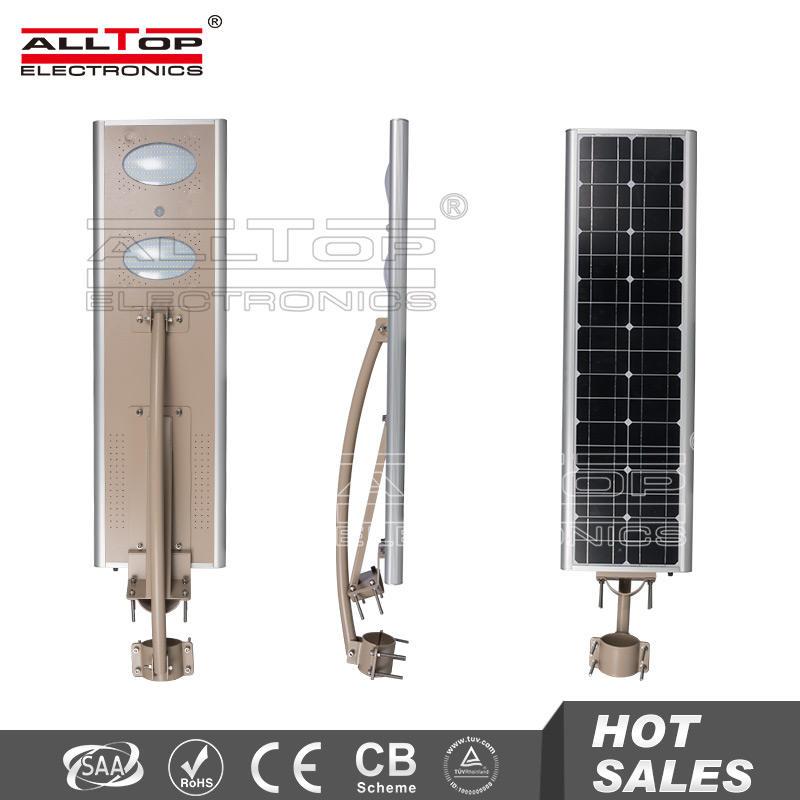 Высокий люмен высокая мощность все в одном 20 Вт 30 Вт 40 Вт солнечные уличные фонари 40 Вт