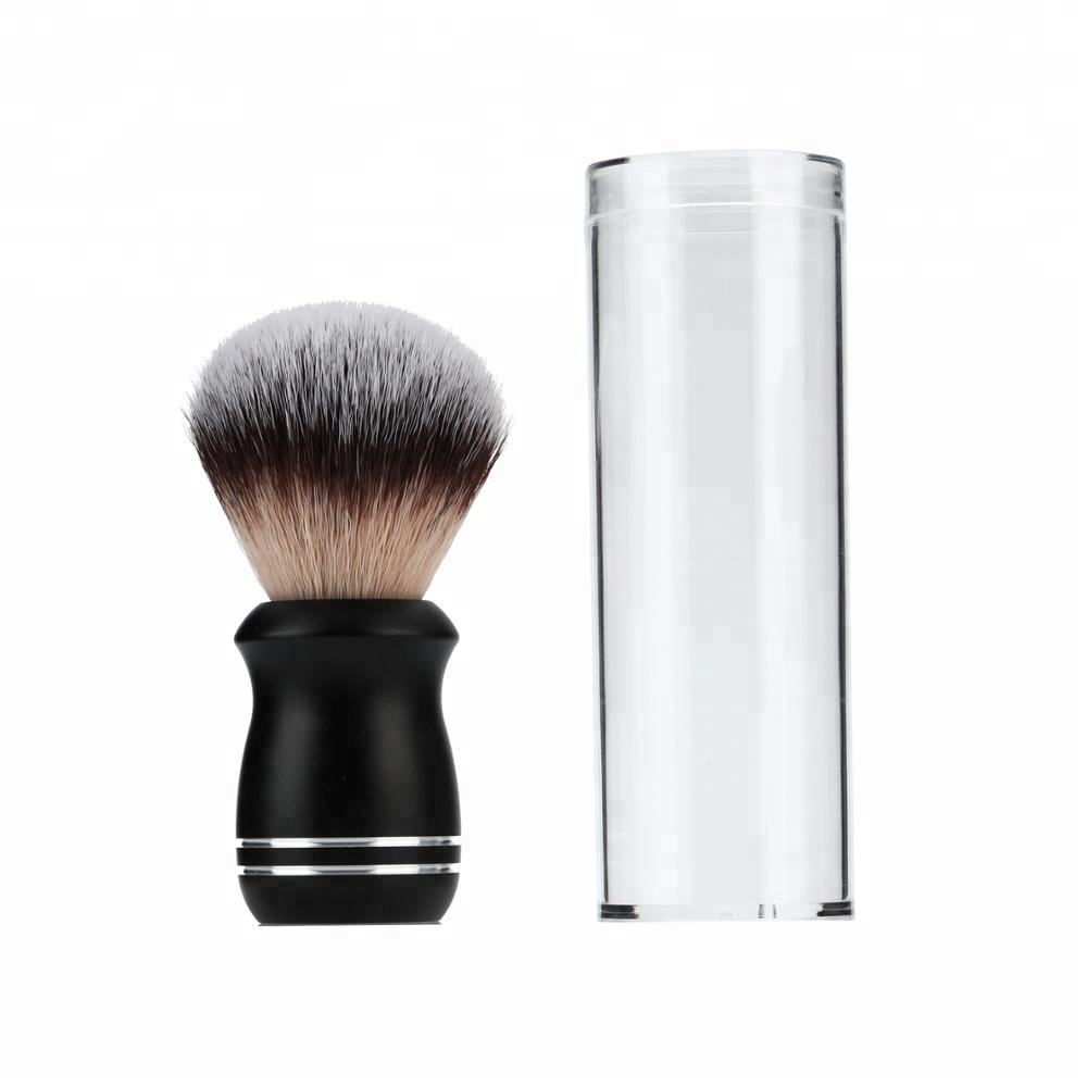 JDK Factory Wholesale Synthetic Shaving Brush Metal Handle for Men and Barbershop Products