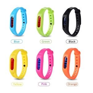 Protection 100% Natural Bug Waterproof Silicone Plant-Based Oil Band Mosquito Repellent Bracelet