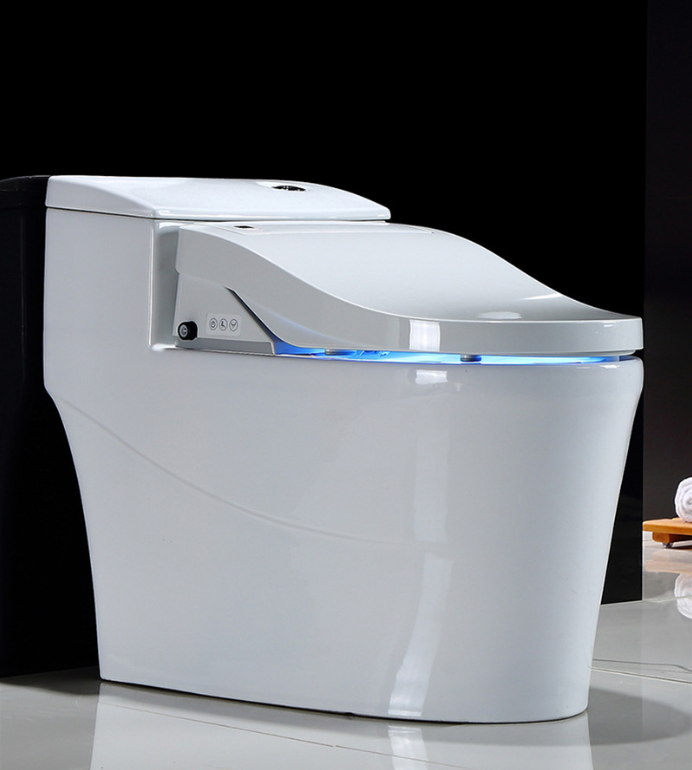 Modern ceramic bathroom intelligent water saving automatic flush smart sensor electronic toilet flush