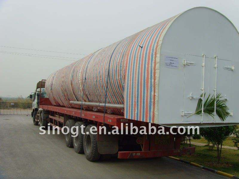 Movable cryogenic Liquid mobile tank 30cmb tanker made in China