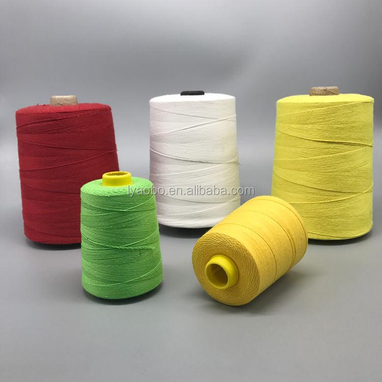 Newlong NP7A Fischbein Portable bag closer polyester thread 3 white cones