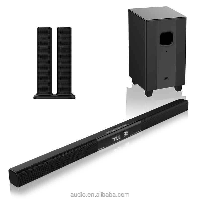 in china 2.1 home theater speaker system Sound Bars tv with wireless subwoofer SOUND BAR