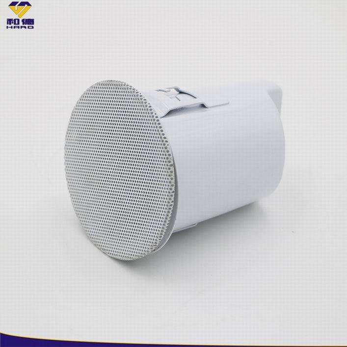 Wholesales Smart Sound Great Speaker With Spray-paint White