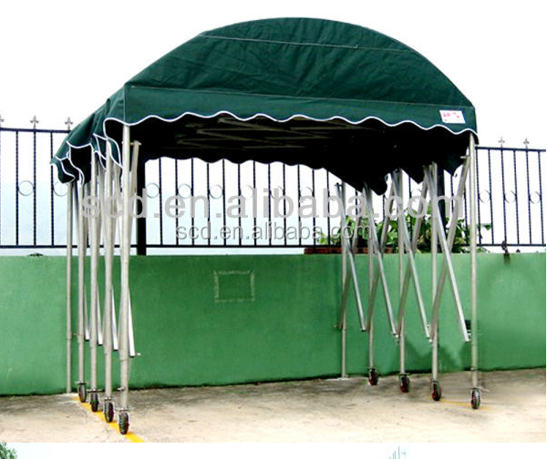 Outdoor General Car Parking Use Retractable Canopies Garage Push and Pull Event Storage Carports Tent