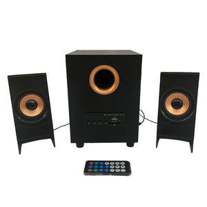 2019 Hot Sale Iparrot I-20extra Kayu Multimedia Home Theater Speaker System2.1 Afrika