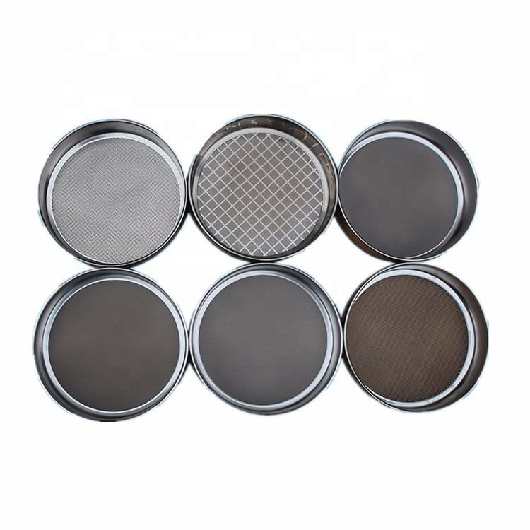 International Standard 150 Micron Mesh Screen Stainless Steel Lab Test Sieve