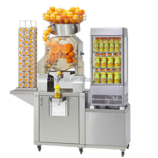 high quality automatic commercial orange juicer machine