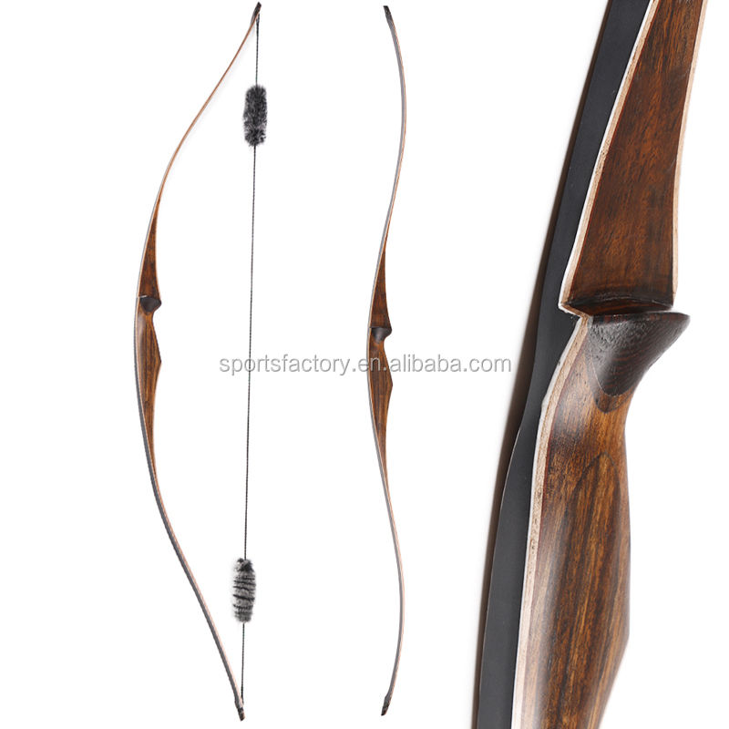 New design handmade archery laminated wooden bow for shooting