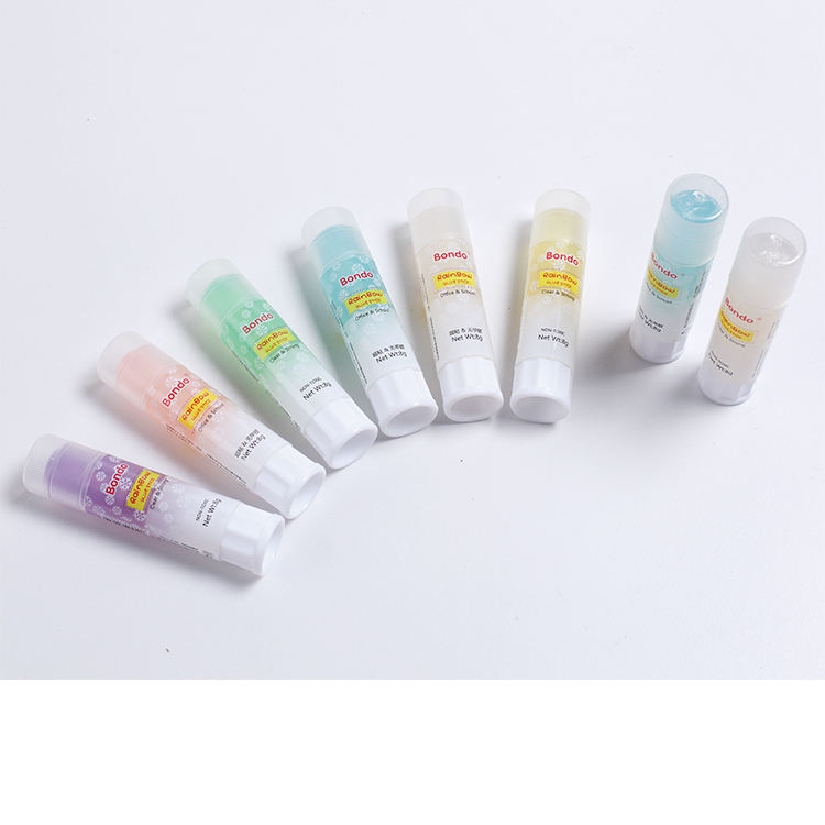 Hot selling high quality quick dry PVP 21g glue stick for back to school or office