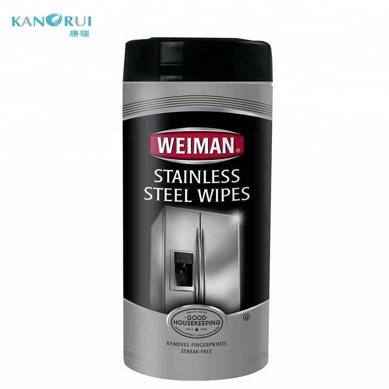 Stainless Steel Cleaning Wipes - Removes Fingerprints, Residue, Water Marks and Grease From Appliances