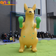 Outdoor advertising inflatable Kangaroo model/inflatable kangaroo cartoon for sale