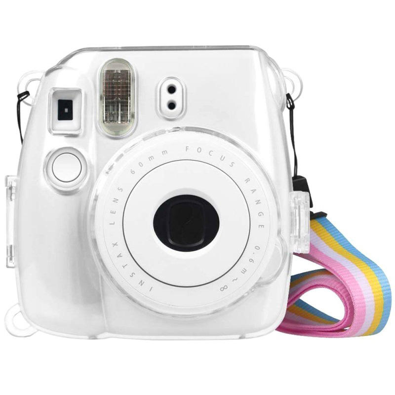 Transparent PC cover case Instax mini 9, Protector case for fujifilm instax mini 8 instant film camera
