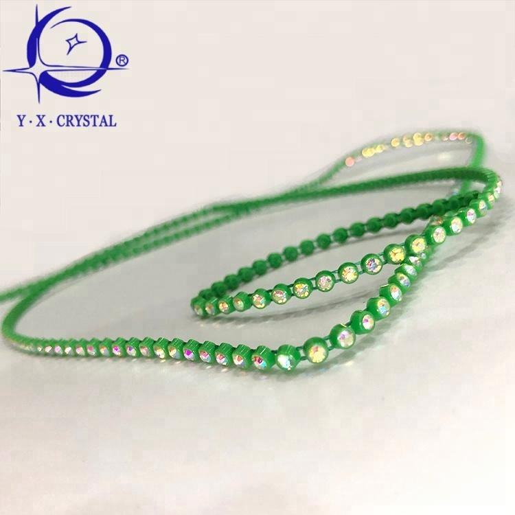 Popular New Bling Bling SS14 Crystal Plastic Rhinestone Banding For DIY Accessories