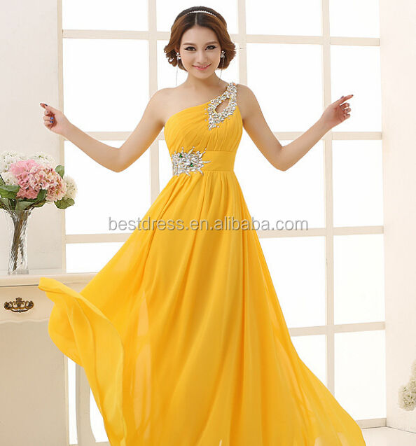 Cleared Bridesmaid Dresses Formal Evening Party Women's Chiffon Long Ball Gowns