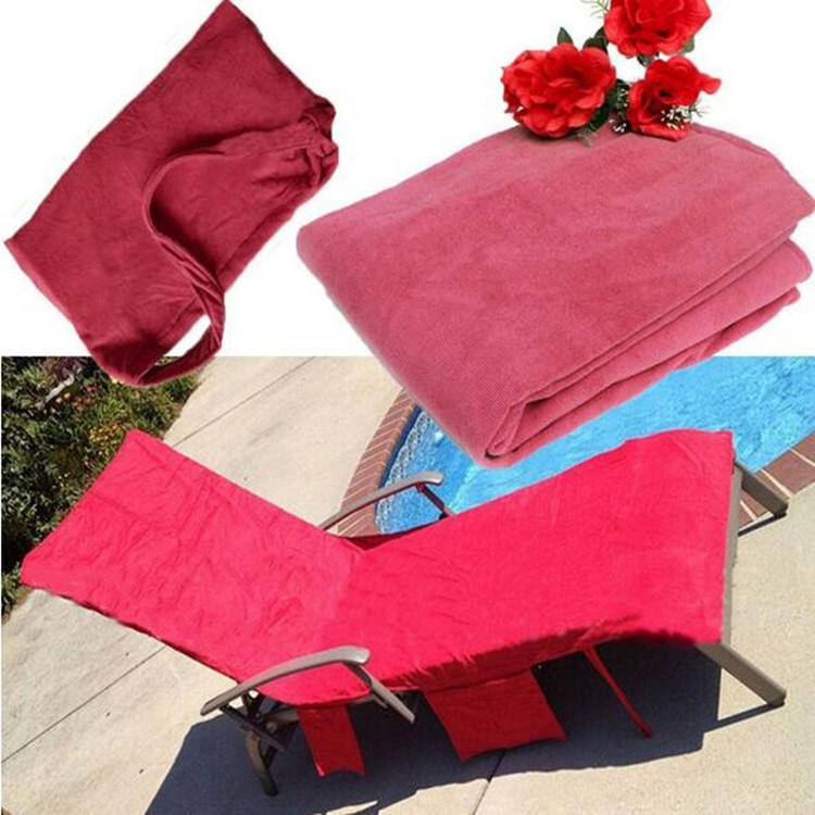 wholesale Beach Chair Cover Sun Towel Lounge Chair Cover