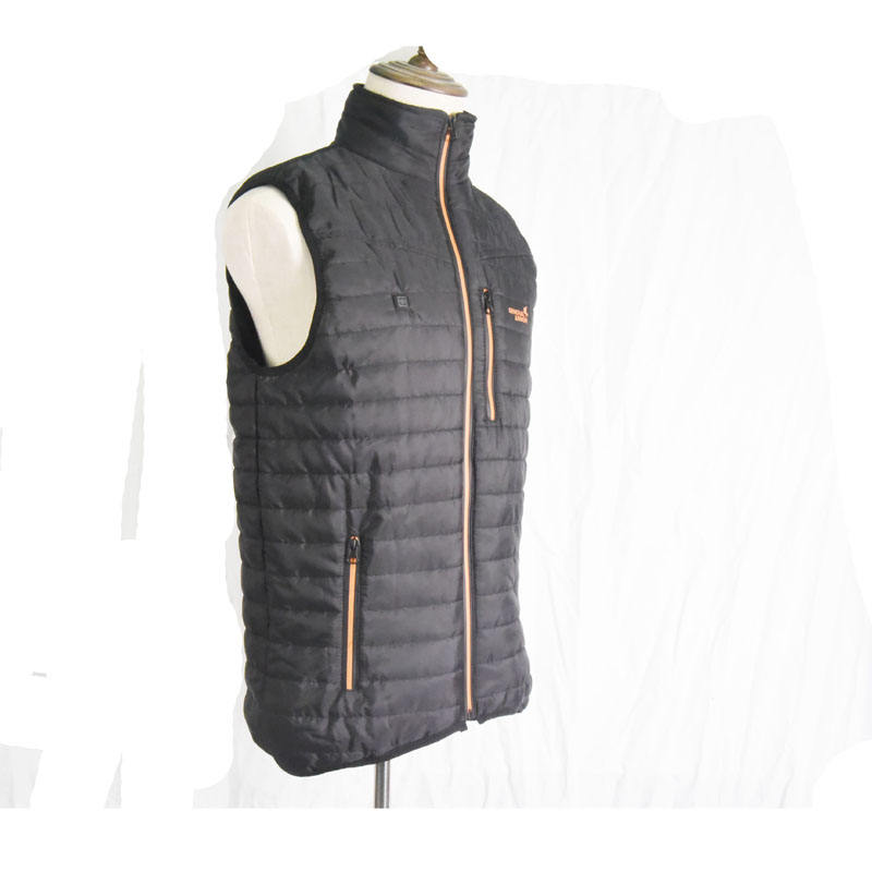 USB Power Bank Heating Custom down hooded vest wholesale ultra light weight down vest vest lightweight ladies
