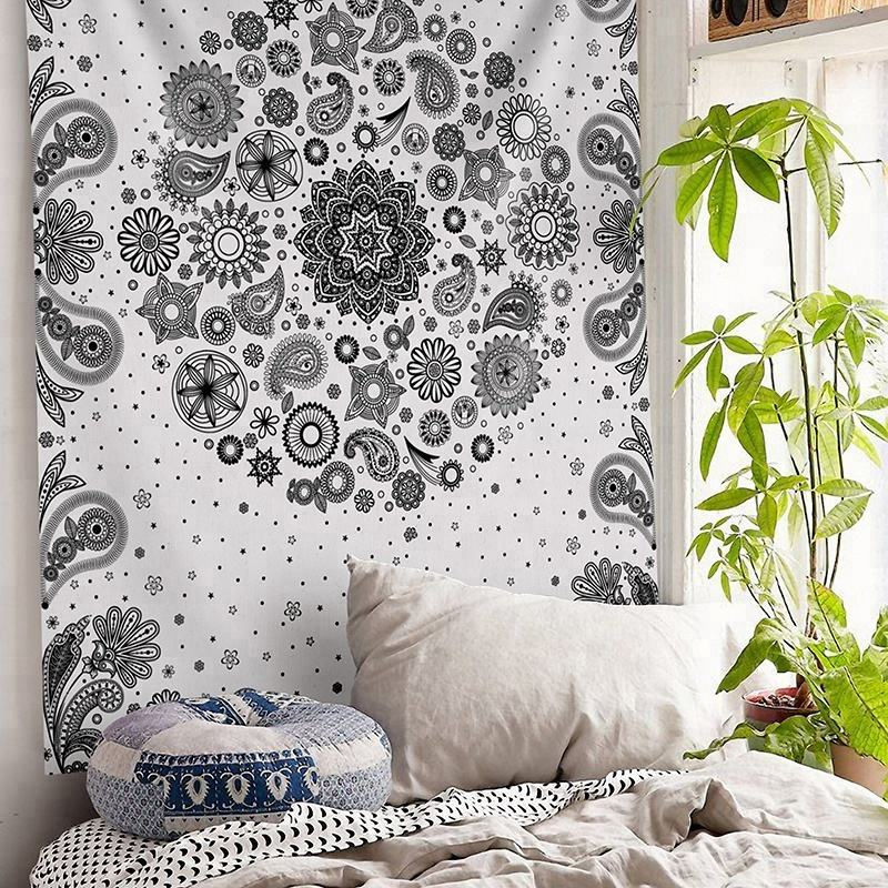 Bedspread printed wholesale indian bedding mandala tapestry wall hangings fabric