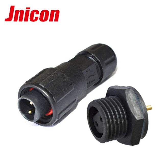 Rohs [ Connector Dc Plug ] Internet Connector Plug Waterproof Connector Ip67 Ip68 M16 2 3 4 5 6 8 Pin DC Connector Plug