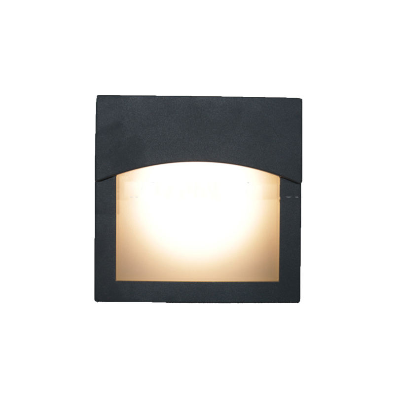 Gx53 11w outdoor and indoor wall light bulkhead waterproof light fitting
