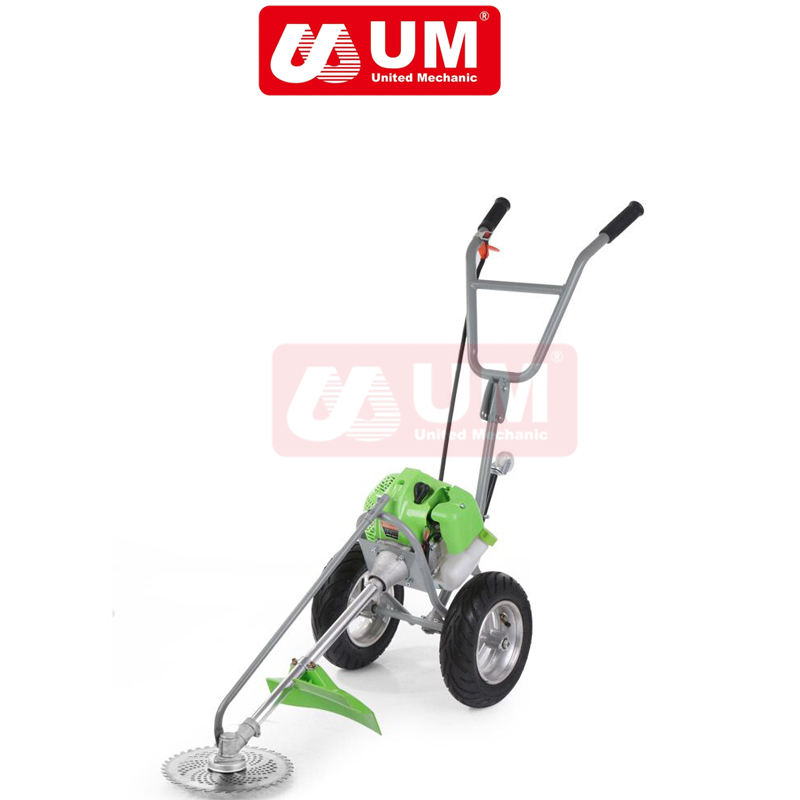 Dua Roda 52cc Brush Cutter Tangan Push Brush Cutter