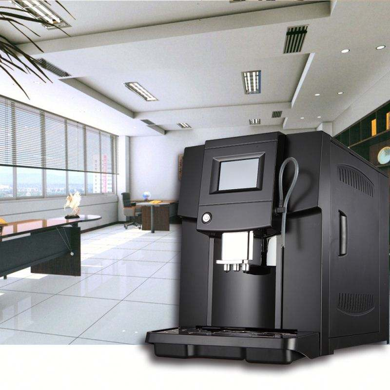 3.5' touch screen Italy Designed full automatic coffee machine for cappuccino coffee