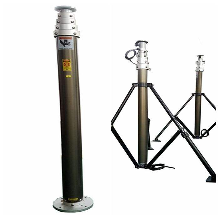 3m mobile pneumatic telescopic mast