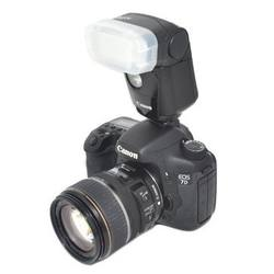 For Canon 600 EX White Plastic Flash Diffuser
