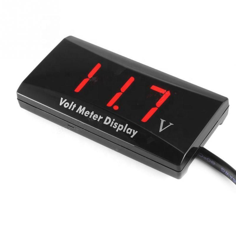 Battery Tester DC LED 90V30A Digital Voltmeter Ammeter Voltage Gauge Panel Meter
