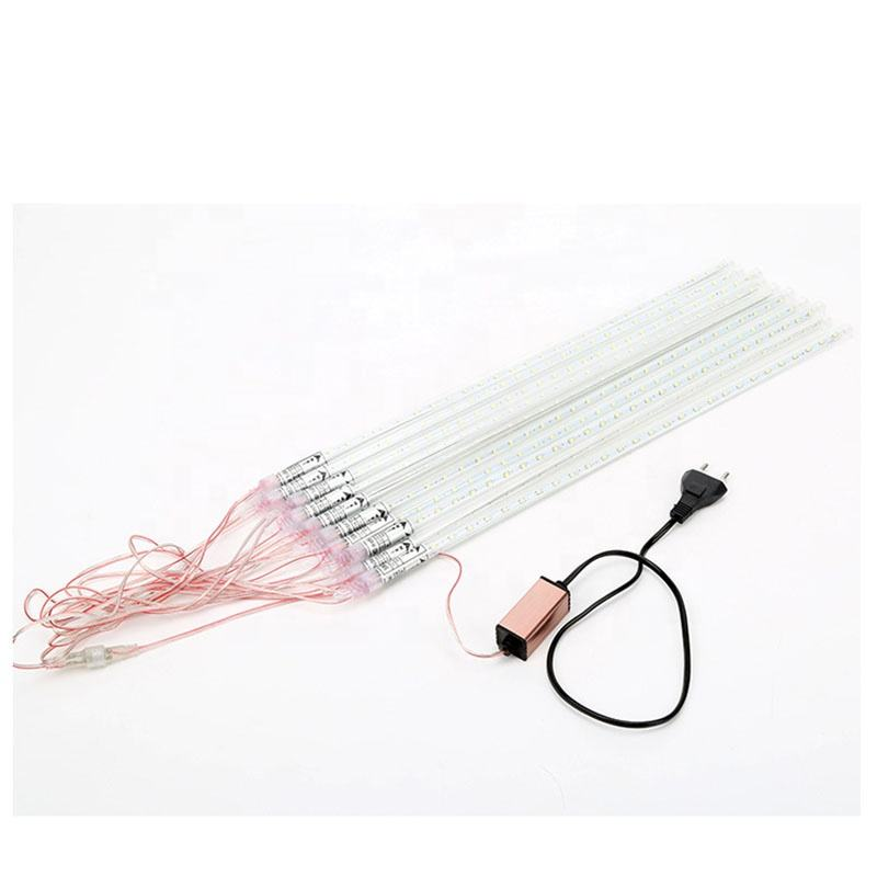 50cm Christmas light Meteor Shower,10 tube per set, connectable 220V