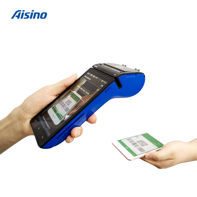 Smart Mobile Payment Mobile Pos 2017 Portable Aisino Smart POS For Mobile Payment Scenarios