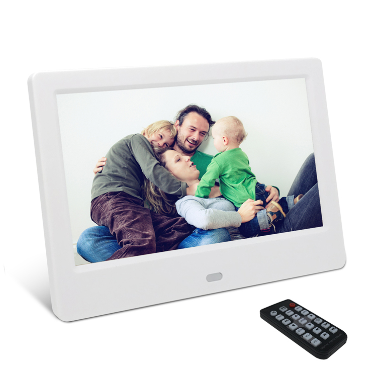 New Arrival 7 inch Video Digital Photo Frame with Calendar