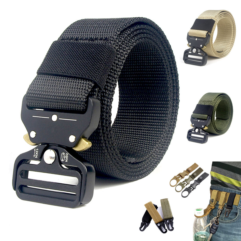 Hot Selling Militaire Tactische Riem Outdoor Combat Leger Taille Riemen