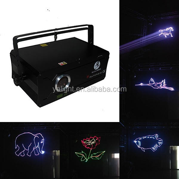 Professional 1200 RGB Full colors Top Quality Decorative Laser lighting