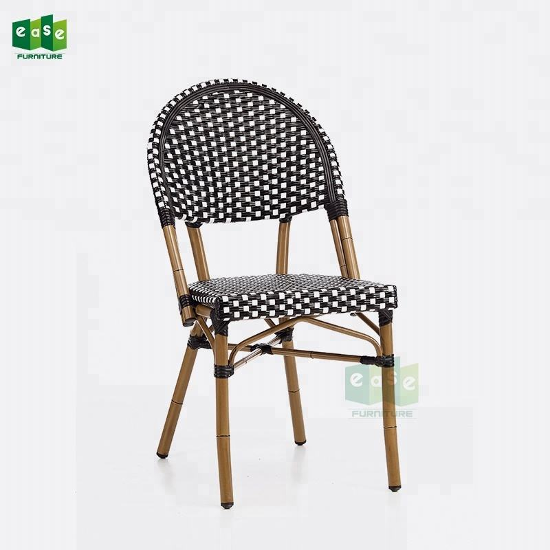 Stacking french paris bistro cafe chair for restaurant dining (E1042)