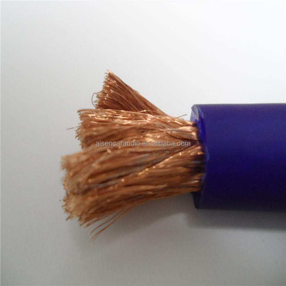 3/0 Gauge OFC copper cable wire car battery cable wire Ground wire