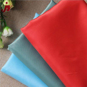 China Factory Wholesale Ribstop Weaving Breathable Coated Polyester Taffeta Dyed Waterproof Lining Fabric