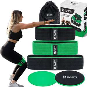 Anti Slip Booty Band Adjustable Resistance Loop Fabric Thighs Elastic Hip Glute Fitness Exercise Workout Pilates Yoga Equipment