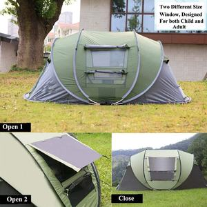 5 Person turbo life cabin camping Tent outdoor customized long, camping tent