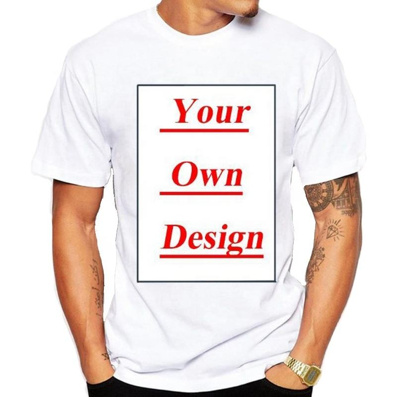 Cheap Price $1.3 Custom LOGO Printing Plain White T shirt Man/Woman