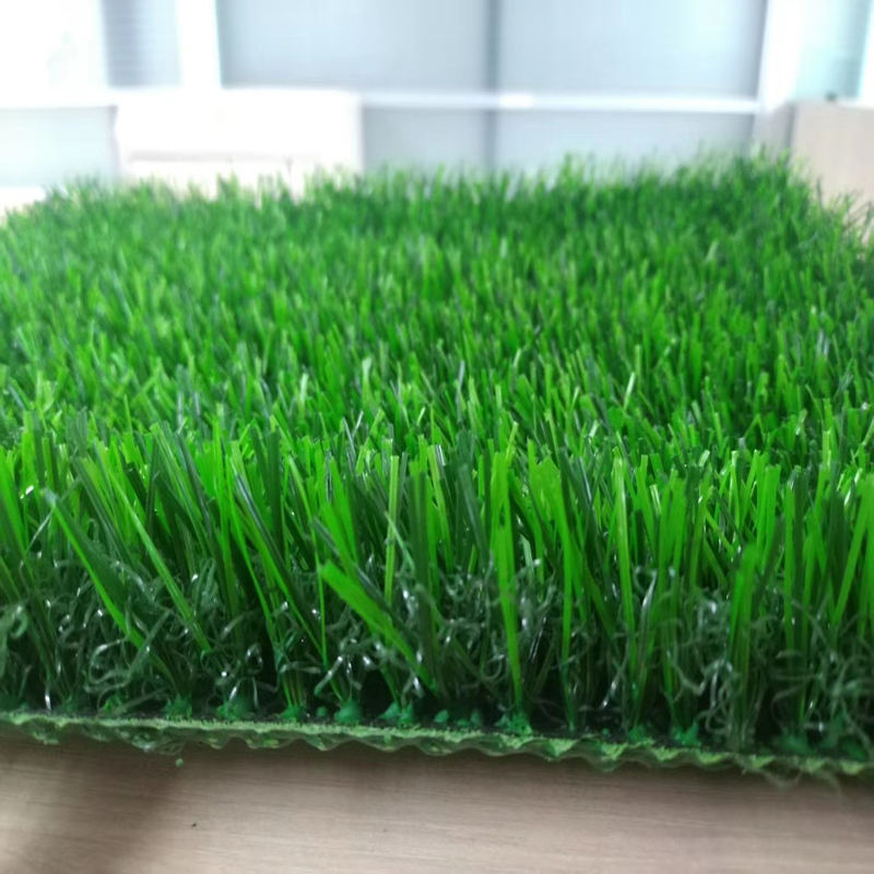Brand new china manufacturer Landscaping artificial grass curled synthetic turf yarn