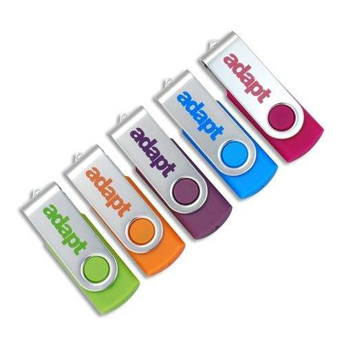 The Newest Swivel Usb Flash Drive 4gb 8gb 16gb Metal Usb Stick 32gb 64gb Pendrive Usb 2.0 Pen Drive U Disk