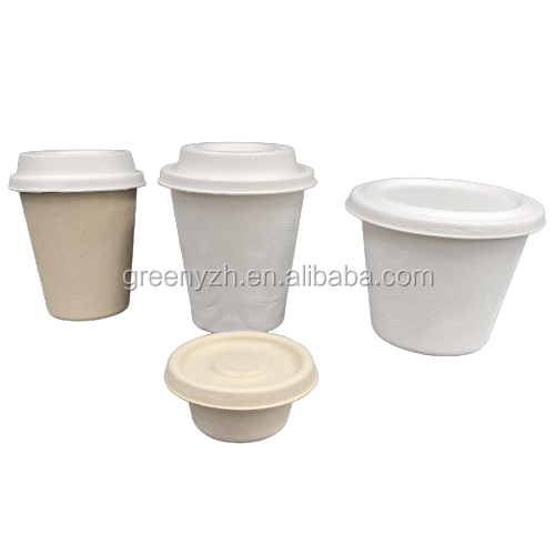 Eco-Friendly Feature and Dishes & Plates Dinnerware Type disposable Coffee and sauce cup sets