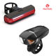 Machfally USB Rechargeable LED Bicycle Light 6 Modes Lamp Set Rear Bike Tail light