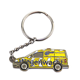 Factory Wholesale Die Cast Key Chain Custom Car Logo Metal Cart Keychains Car Metal Keychain
