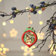 New China Decorations Decoration 2020 New Design China Wooden Led Light Pendant Indoor Ornament Merry Christmas Tree Decorations Supplies
