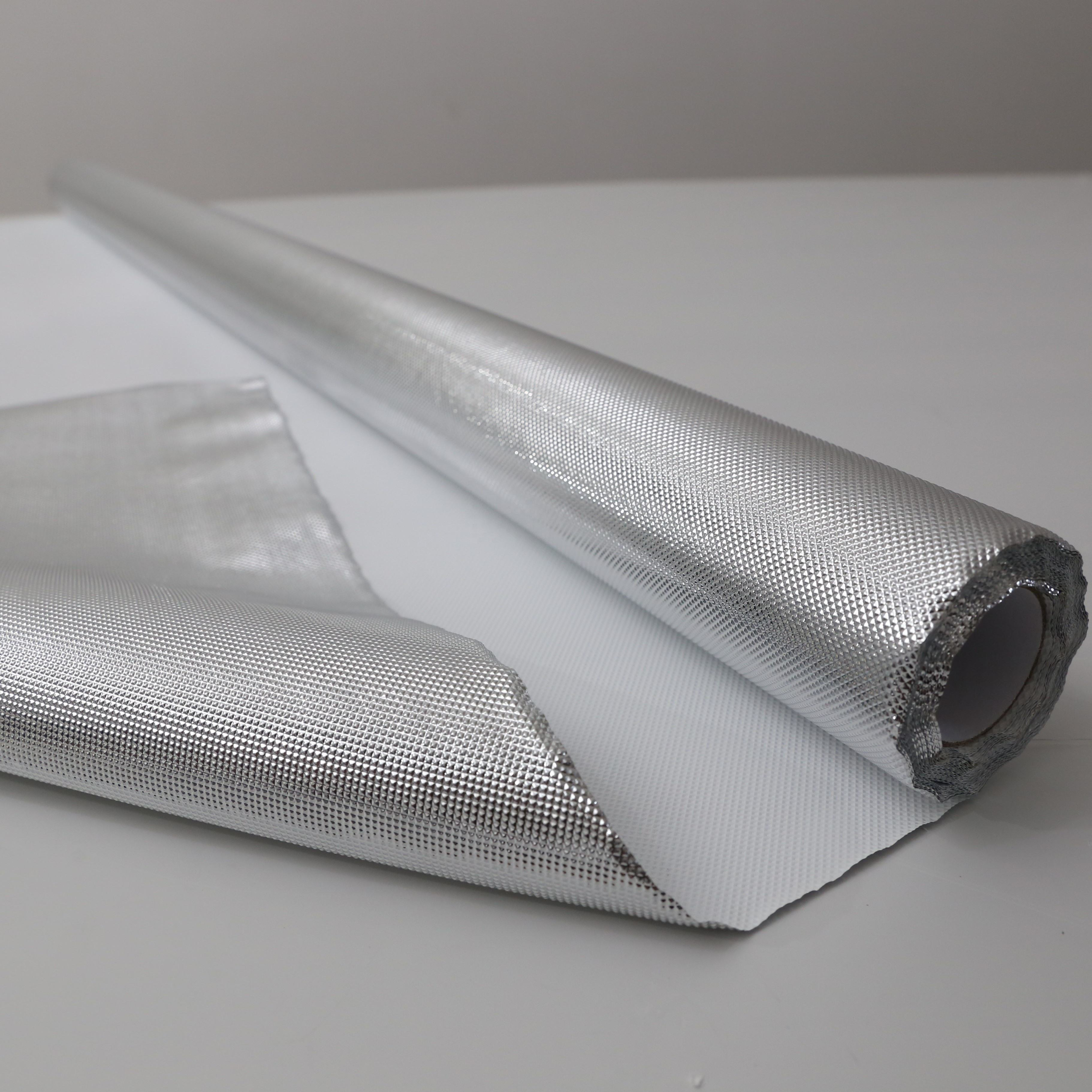 Silver Mylar on White or Black PE Backing Diamond Reflective Grow Sheet for hydroponic